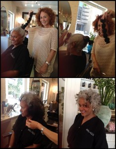 Our lovely De Jur's  hair transformation
